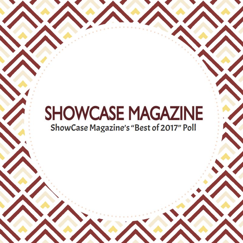 ShowCase Magazine Best of 2017 Button