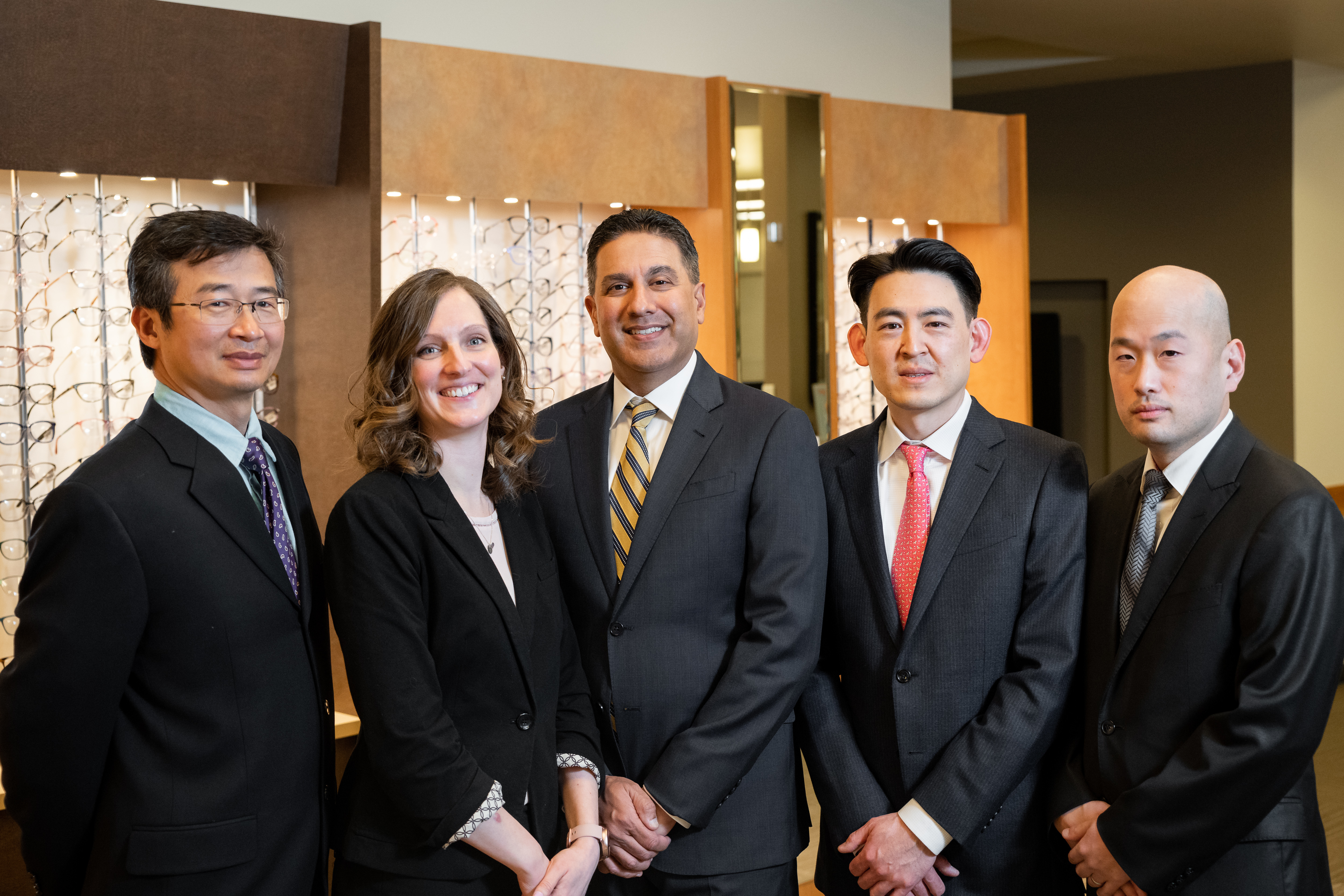 Image of Dr. Chiu, Dr. Patel, Dr. Taylor, and Dr. Pham