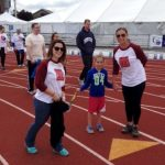 Runners at Relay for Life