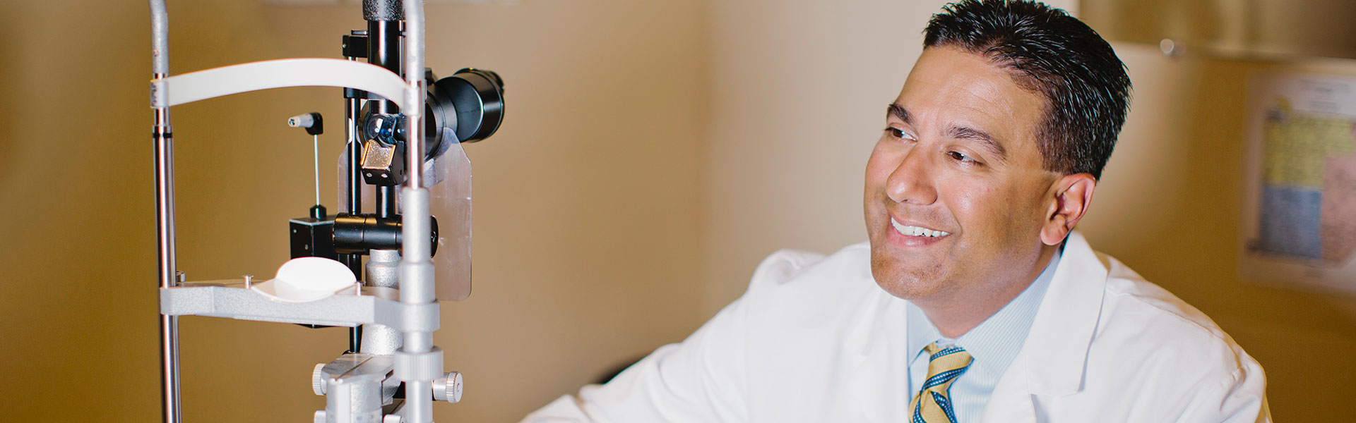 Dr. Niraj Patel and his eye care ervices